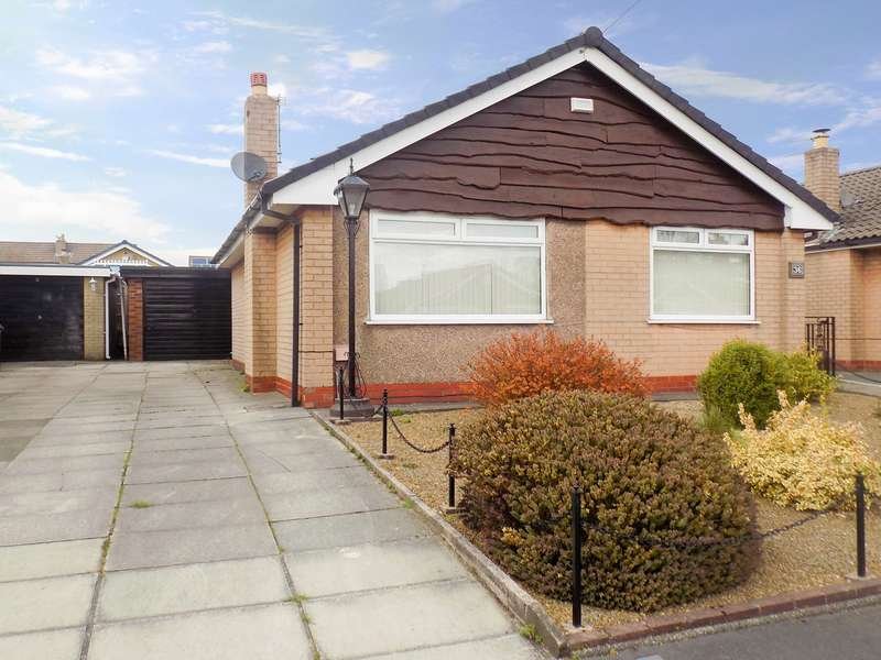 2 Bedrooms Detached Bungalow for sale in Gilda Road, Worsley, Manchester, M28