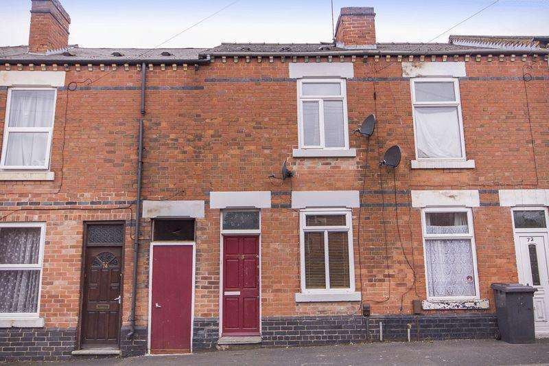 2 Bedrooms Terraced House for sale in DARBY STREET, DERBY