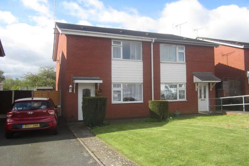 2 Bedrooms Semi Detached House for sale in Brook Close, Crewe, CW1