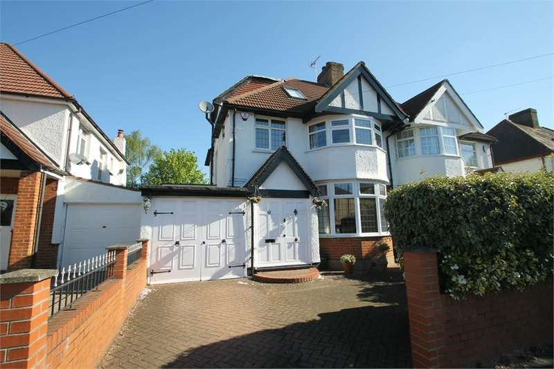 4 Bedrooms Semi Detached House for sale in Ridge Road, N21