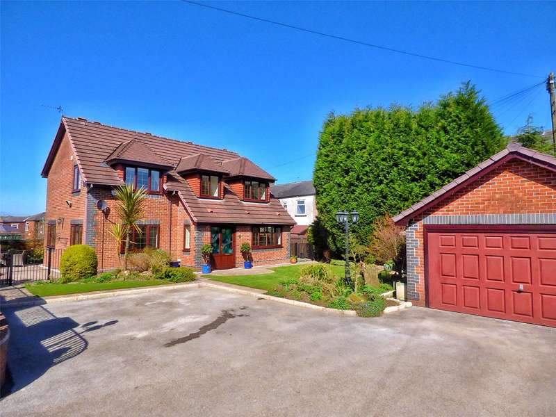 4 Bedrooms Detached House for sale in Birshaw Close, Off Oldham Road, Shaw, Oldham, OL2