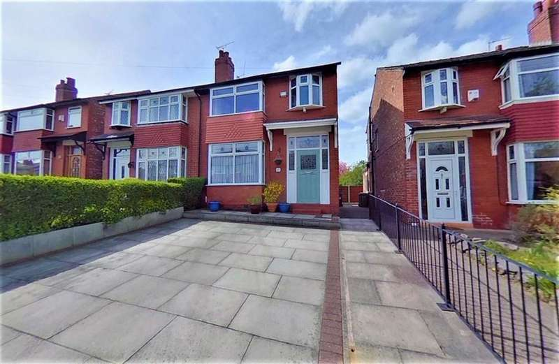 4 Bedrooms Semi Detached House for sale in St Lesmo Road, Cheadle Heath, Stockport