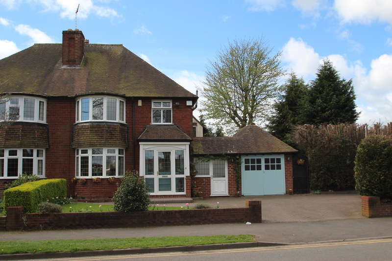 3 Bedrooms Semi Detached House for sale in Somerset Road, Edgbaston