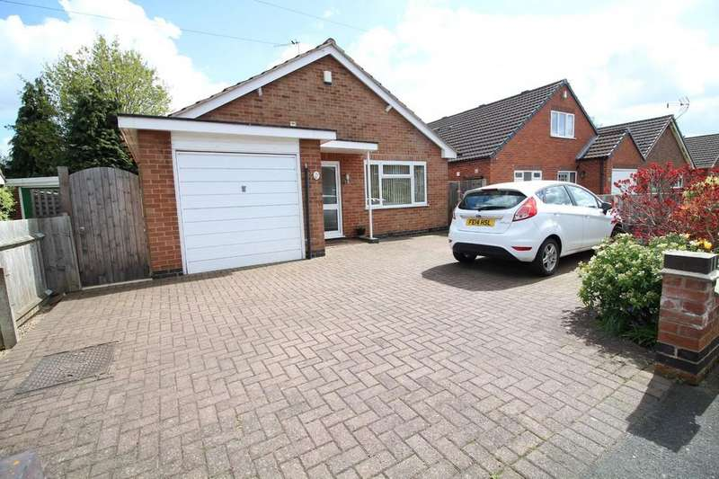4 Bedrooms Detached Bungalow for sale in Limehurst Avenue, Loughborough