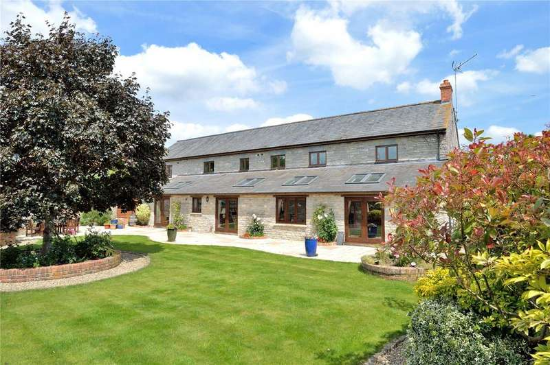 4 Bedrooms Barn Conversion Character Property for sale in Compton Street, Compton Dundon, Somerton, Somerset