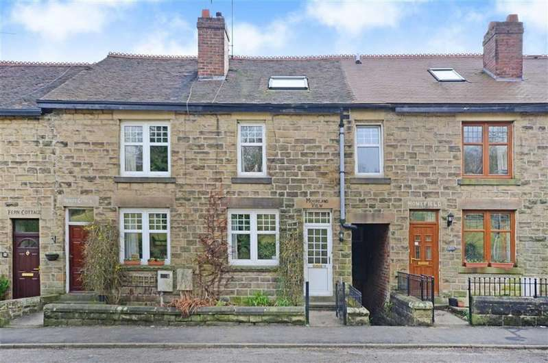 3 Bedrooms Terraced House for sale in Moorland View, 10, Main Road, Grindleford, Hope Valley, Derbyshire, S32