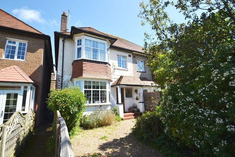 4 Bedrooms Semi Detached House for sale in Victoria Road, Worthing, BN11 1XB
