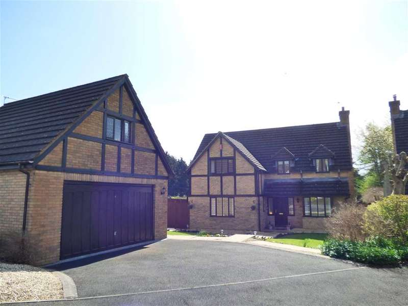 5 Bedrooms Detached House for sale in Manor View, St Arvans, Chepstow