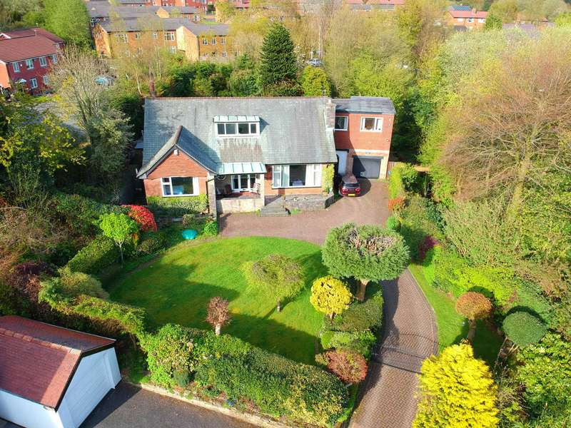 4 Bedrooms Detached House for sale in Hoboken House, Off Chorley New Rd, Horwich