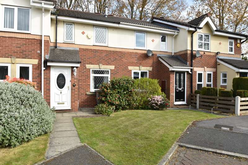 2 Bedrooms Terraced House for sale in Speyside Close, Whitefield, Manchester, M45
