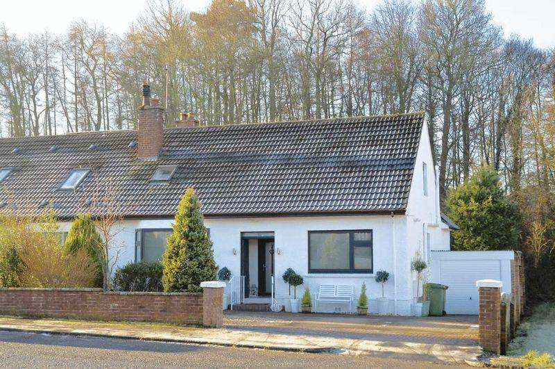 4 Bedrooms Semi Detached Bungalow for sale in Whinhill Road, Alloway, Ayr