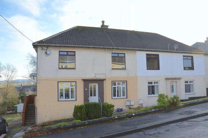 2 Bedrooms Flat for sale in Broom Crescent, Ochiltree