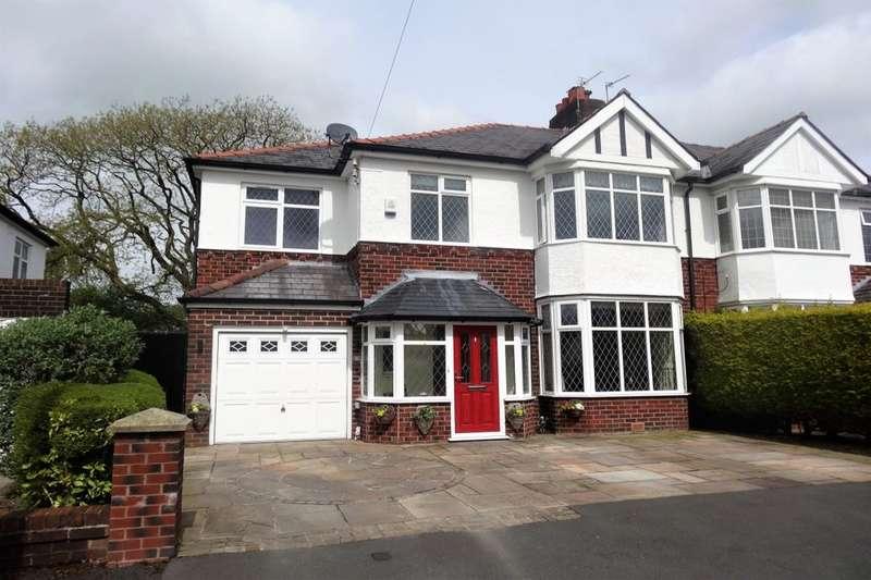 3 Bedrooms Semi Detached House for sale in Royal Avenue, Fulwood, Preston, PR2