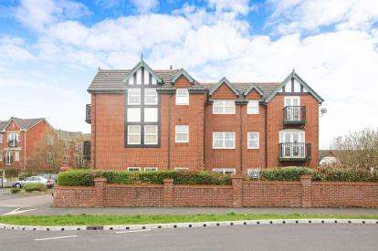 2 Bedrooms Flat for sale in Brompton Way, Handforth, Wilmslow, Cheshire