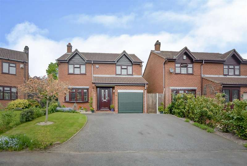 4 Bedrooms Detached House for sale in Meadow Close, Breaston