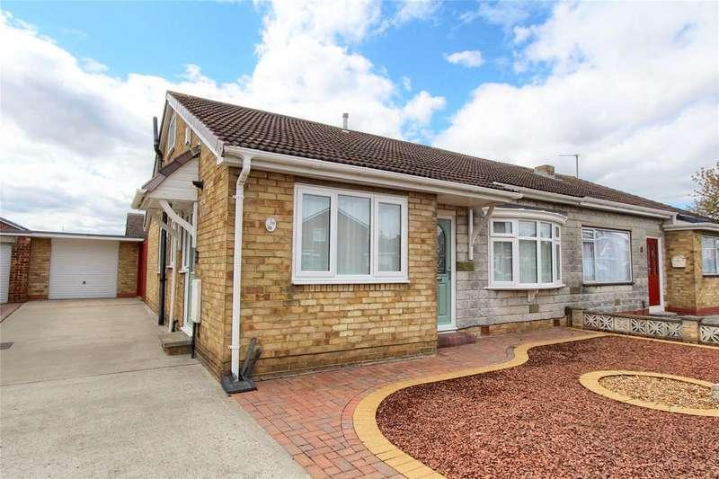 2 Bedrooms Semi Detached Bungalow for sale in Burniston Drive, Wolviston Court