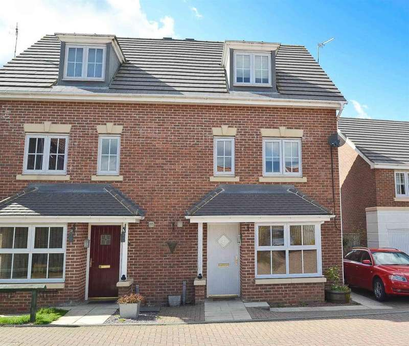 4 Bedrooms Semi Detached House for sale in Fenwick Way, Consett, , DH8 5FE