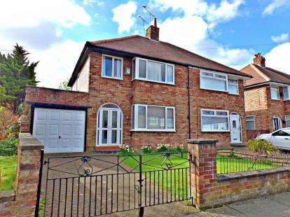 3 Bedrooms Semi Detached House for sale in Mather Road, Prenton, Merseyside, CH43