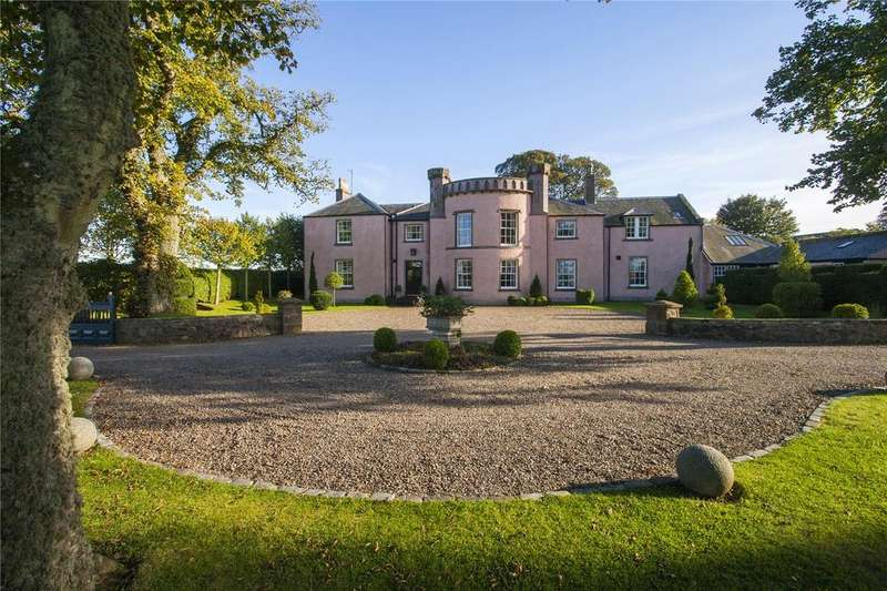 6 Bedrooms Detached House for sale in Kirkton House, Kirkton of Craig, By Montrose, Angus, DD10