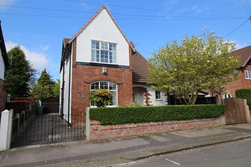 3 Bedrooms Detached House for sale in Dunollie Road, Sale, M33