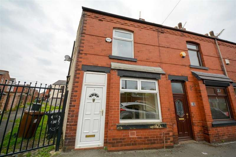 3 Bedrooms End Of Terrace House for sale in Third Avenue, Springfield, Wigan, WN6