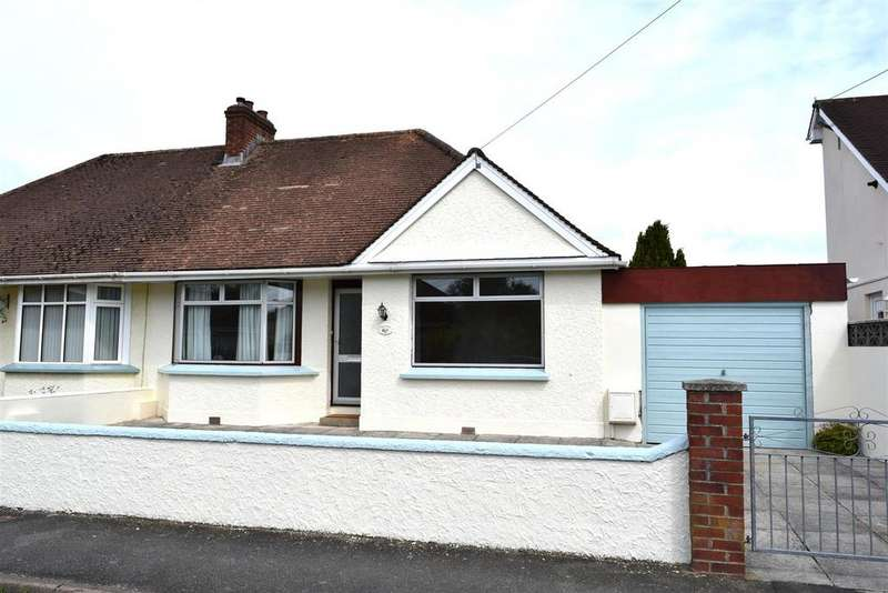 2 Bedrooms Semi Detached Bungalow for sale in Chestwood Avenue, Sticklepath, Barnstaple