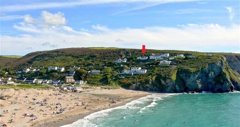 4 Bedrooms Bungalow for sale in Westcliff, Porthtowan, Truro, Cornwall, TR4