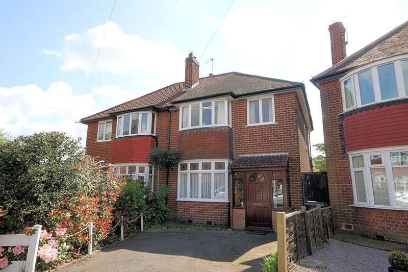 3 Bedrooms Semi Detached House for sale in Turner Avenue, Loughborough