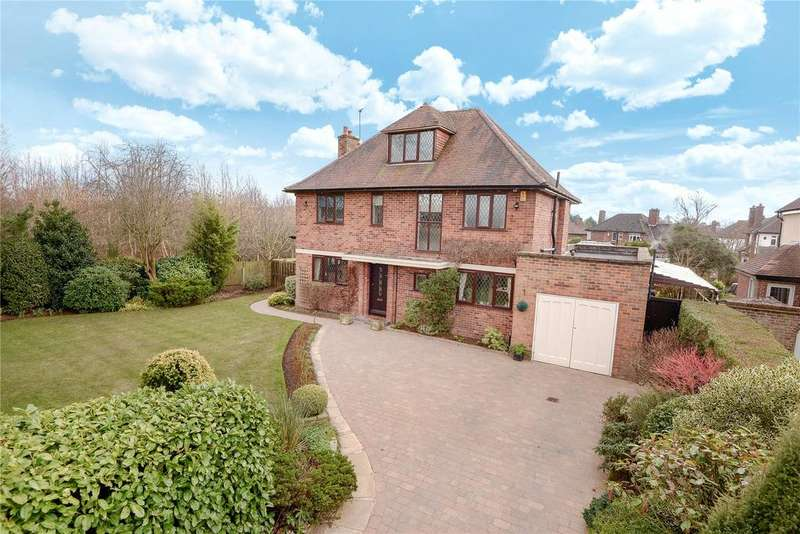 4 Bedrooms Detached House for sale in Holly Road North, Wilmslow, Cheshire, SK9