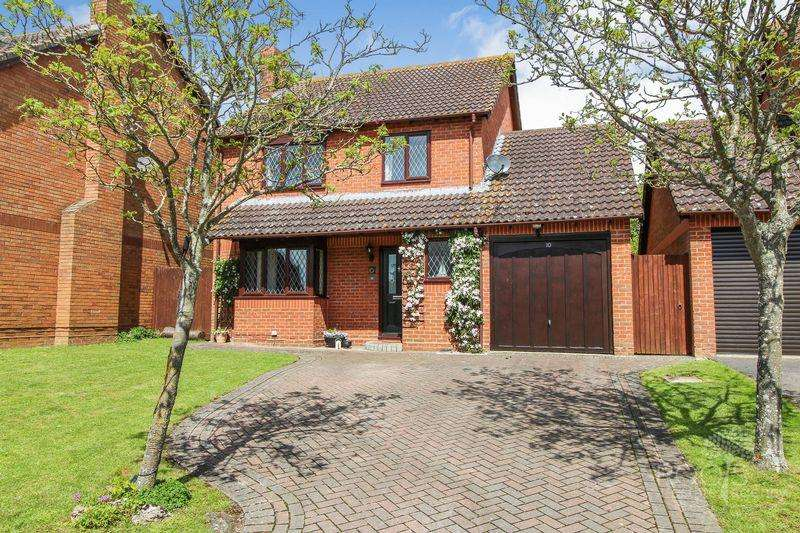 4 Bedrooms Detached House for sale in Hammond Close, Thatcham