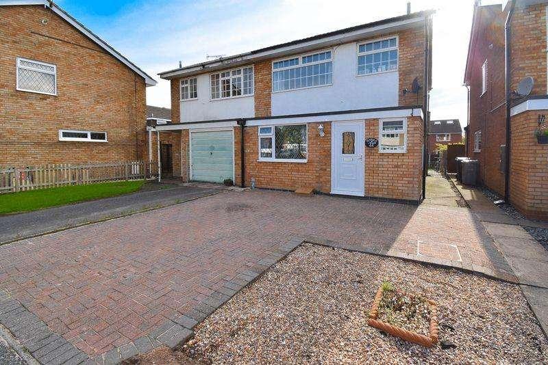 4 Bedrooms Semi Detached House for sale in Camborne Close, Congleton