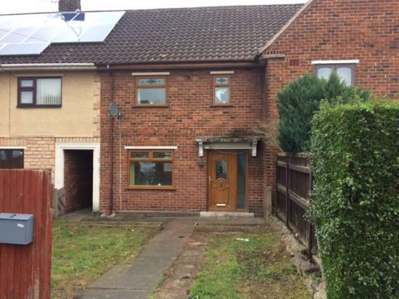 3 Bedrooms Terraced House for sale in St Ethelwolds, Shotton, Deeside