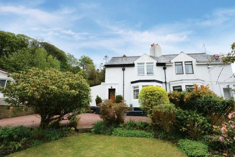 4 Bedrooms Semi Detached House for sale in 48 Main Road, Fairlie, KA29 0DW
