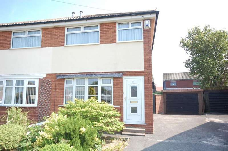 2 Bedrooms Semi Detached House for sale in 14 Mooretree Drive