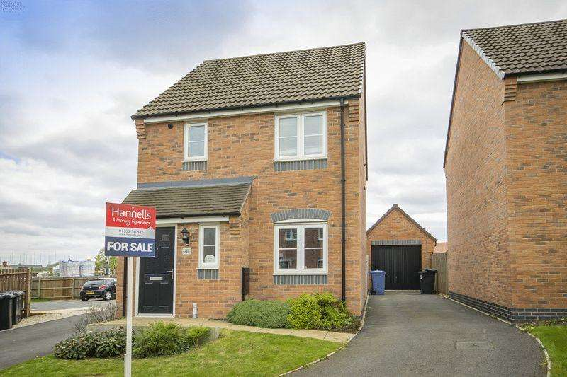 3 Bedrooms Detached House for sale in BATTERSEA PARK WAY, DERBY
