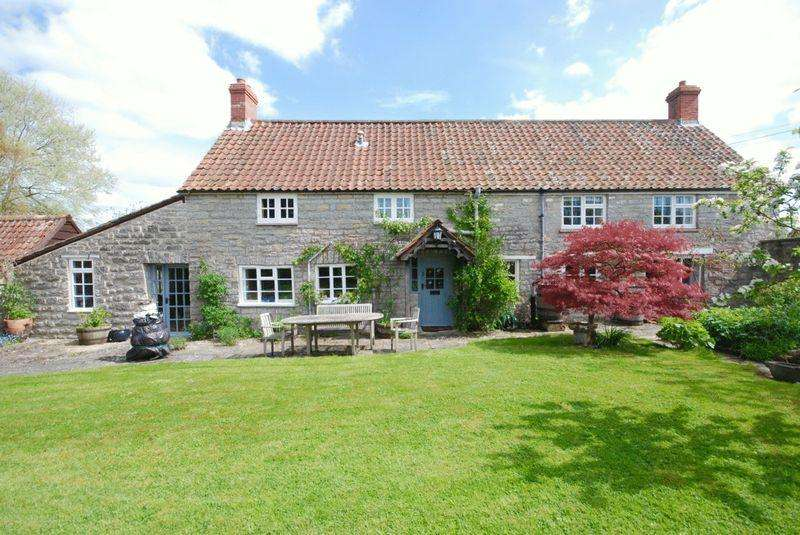 4 Bedrooms Detached House for sale in Butleigh. Between Glastonbury and Castle Cary
