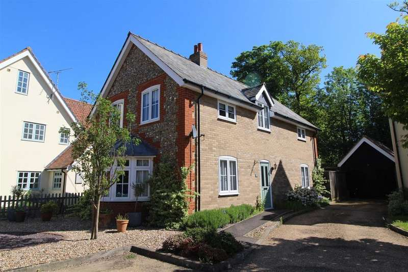 3 Bedrooms Detached House for sale in Hornings Park, Horringer, Bury St Edmunds