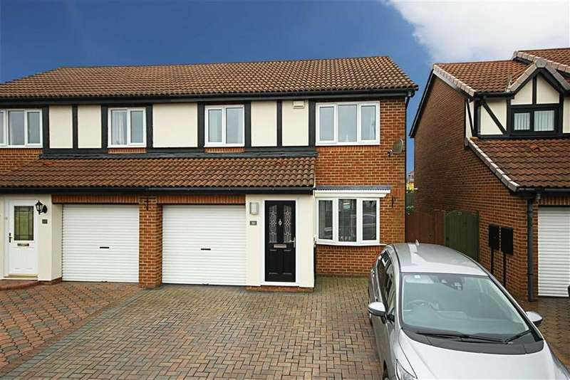 3 Bedrooms Semi Detached House for sale in Fareham Grove, Boldon Colliery, Tyne And Wear