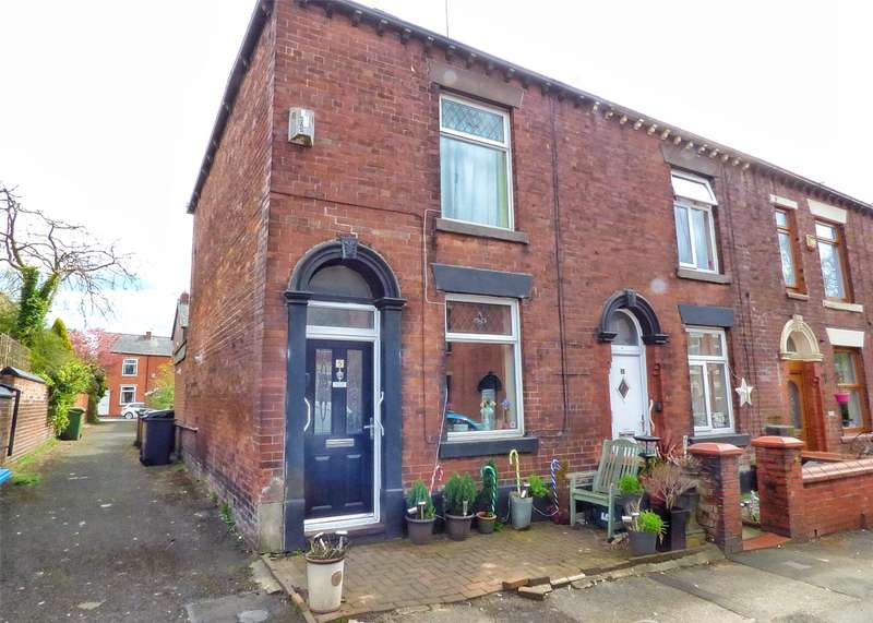 2 Bedrooms End Of Terrace House for sale in Queen Street, Royton, Oldham, Greater Manchester, OL2