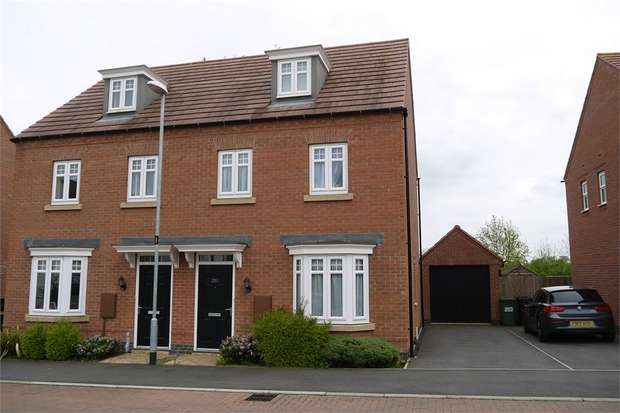 3 Bedrooms Semi Detached House for sale in Dairy Way, Kibworth Harcourt, Leicester
