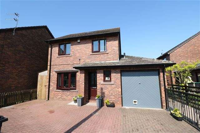 3 Bedrooms Detached House for sale in Hendersons Croft, Crosby-On-Eden, Carlisle, Cumbria, CA6 4QU