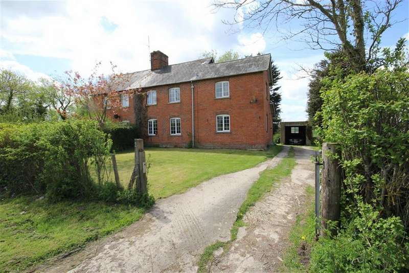 3 Bedrooms Semi Detached House for rent in Zula Farm Cottages, Ashbury, Swindon, Wiltshire