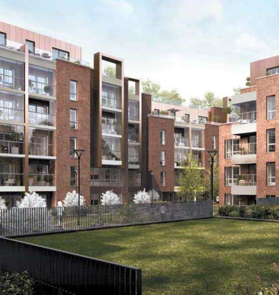 2 Bedrooms Apartment Flat for sale in Burnell Building, Fellows Square, NW2