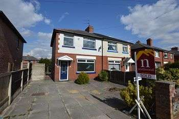 3 Bedrooms Semi Detached House for rent in Barton Road, Farnworth, Bolton, BL4 9PW