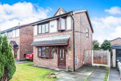 3 Bedrooms Detached House for sale in Chapelstead, Westhoughton, Bolton, Greater Manchester, BL5