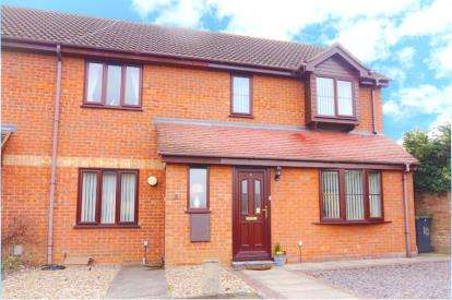 3 Bedrooms End Of Terrace House for sale in Pentland Close, Sandy, Bedfordshire