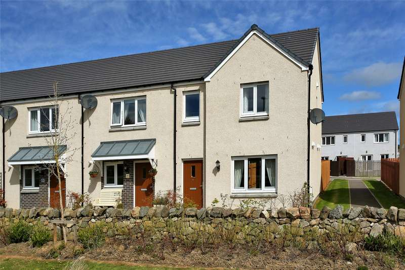 3 Bedrooms End Of Terrace House for sale in 6 McCombie Terrace, Alford, Aberdeenshire, AB33