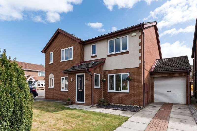 3 Bedrooms Semi Detached House for sale in Abercorn Court, Darlington, County Durham, DL3