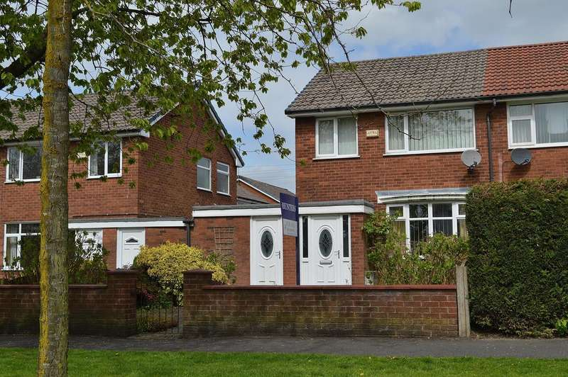 3 Bedrooms Semi Detached House for sale in Hollins Road, Hollins, Oldham, OL8 4LB