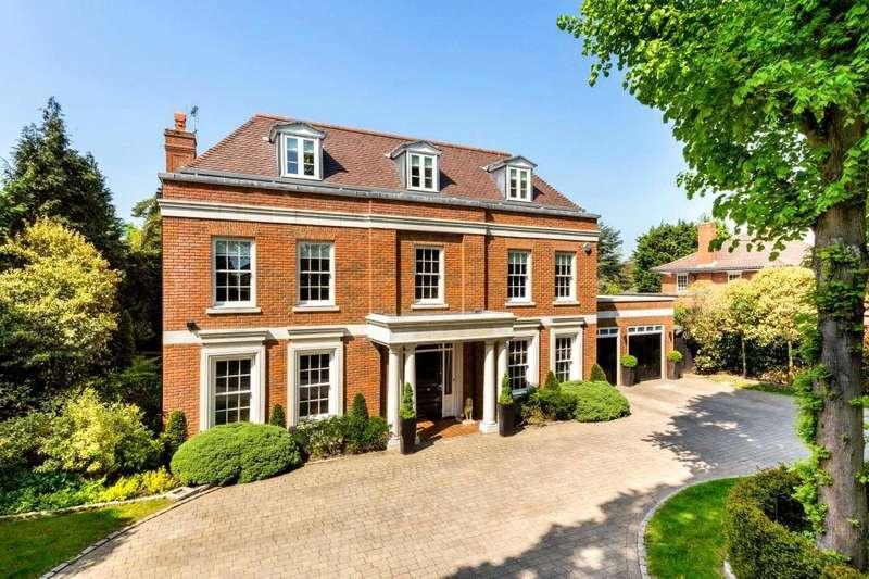 6 Bedrooms Detached House for sale in The Ridge, Epsom, Surrey, KT18